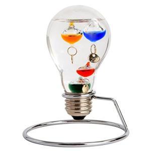 茶谷産業 Fun Science ガラスフロート温度計 電球 333-208|smile-box