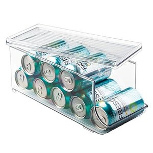 35.25cm x 14.5cm x 14.75cm ストーレッジ・オーガナイザー、ソーダ缶、ビール...
