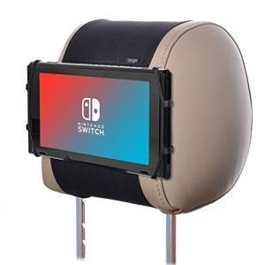 TFY 車用ヘッドレストゲーム機ホルダー シリカゲルホルダー マウント Nintendo Switchゲーム機専用ホルダー smile-box