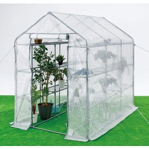 【お届けする商品は スーパーBIG  になります】 大きな温室棚。たっぷり収納できます! 棚数18枚...