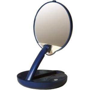 アメリカ発 Floxite 15倍ミラー 拡大鏡 メイクアップミラー ライト付き smile-box