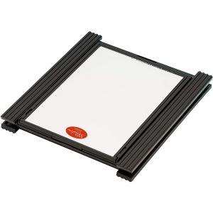 ヘアチェックミラー ナピュアミラー ブラック・HCM-1bk smile-box