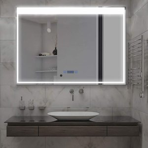 MiraHope 洗面 鏡 ミラー LED 壁掛け 照明付き ledミラー 洗面所 洗面台 おしゃれ...