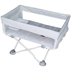 DEARGENA ベビーベッド 折りたたみベッド ポータブル 添い寝ベッド コンパクト 軽量 通気性良い 0〜24ヶ月 プラス smile-box
