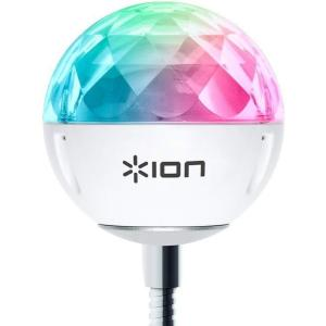 ION Audio Party Ball USB LEDライト ミラーボール 音声で光が変化 smile-box