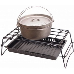 キャプテンスタッグ(CAPTAIN STAG) ダッチオーブン ビギナーセット 鋳鉄製 6点セット