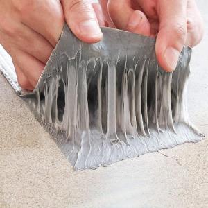 超強力補修テープ 防水 ブチルテープ 強力両面テープ 屋根防水テープ 水漏れ パテ 固定 屋内 屋外...