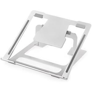 Desire2 ポータブル Macbook ラップトップ ノートパソコン パソコンスタンド ライザー デスクスタンド PCスタンド (シルバー) smile-box