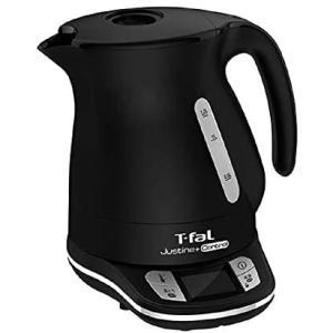 ティファール(T-FAL) 電気ケトル 1.2L ブラックジャスティン プラス コントロール KO7558JP (ブラック)|smile-box