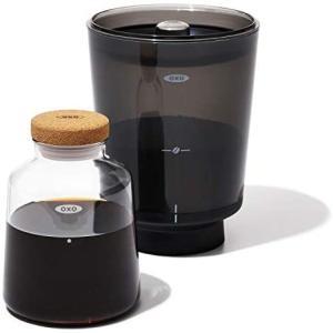OXO BREW コールドブリュー 濃縮コーヒーメーカー ブラック (ブラック One Size)|smile-box
