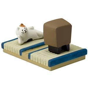 DECOLE concombre まったりシアター 三毛猫 smile-box
