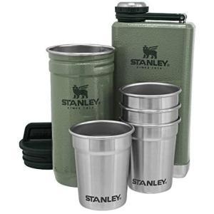 スタンレー フラスコ+ショットグラス×4セット … (グリーン)