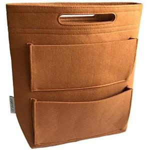 cravate バッグインバッグ ロングタイプ リュック用インナーバッグ (040 キャメル)