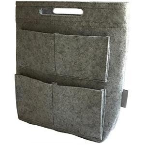 cravate バッグインバッグ ロングタイプ リュック用インナーバッグ (020 ライトグレー)