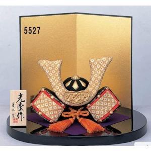戦国武将 コンパクト ミニ お祝い 五月人形 小さいサイズ 端午の節句 錦彩ちりめん出世兜 smile-box