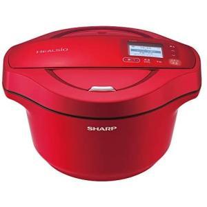 シャープ 水なし自動調理鍋 2.4L レッド系SHARP ヘルシオホットクック KN-HW24F-R (レッド)|smile-box
