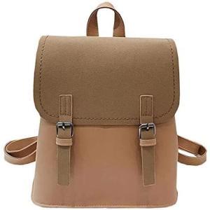 プチハピ リュックサック リュック バッグ バック 鞄 かばん 大きめ ショルダーバッグ ショルダーバック 斜め掛け ハンドバッグ (ブラウン) smile-box