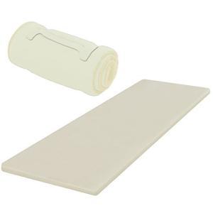 【お届けする商品は クリーミーホワイト(幅60cm) になります】 サイズ:(約)60cm180cm...