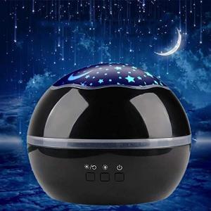 【2019新版】星空ライト スタープロジェクター 投影ランプ 360回転 8モード 電池/USB給電...