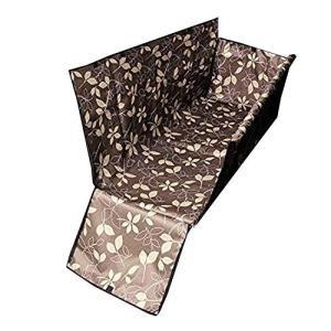 丈夫な防水ナイロン、130cmx150cmx55cm、重量は1.1kg ペットシートカバー表面に防水...