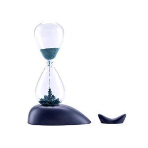 MULU 砂時計 ガラス 磁気 ブルー クジラ砂時計 1分計 装飾品 置物 誕生日 記念日 プレゼント 17177cm|smile-box