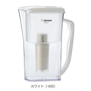 象印マホービン 炊飯浄水ポット 【MQ-JA11-WB】|smile-dp