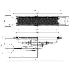 リンナイ 荒磯用(RGA) ガス赤外線バーナーユニット R-420-7|smile-dp