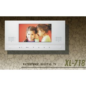 ワーテックス 7型 地上デジタル防水テレビ 【XL-718】|smile-dp