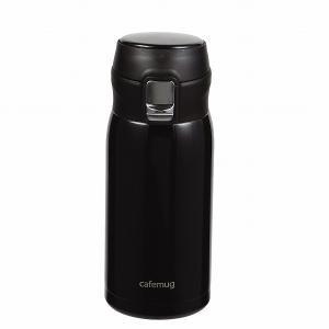 カフェマグポーター 軽量ワンタッチマグ350(ブラック) HB-4754|smile-hg
