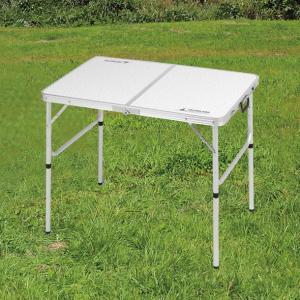 ラフォーレアルミツーウェイテーブルS「アジャスター付」90×60cm UC-511|smile-hg