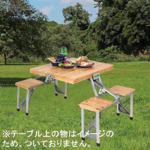 NEW シダー杉製ピクニックテーブル「ナチュラル」 UC-3|smile-hg