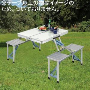 ラフォーレDXアルミピクニックテーブル UC-9|smile-hg