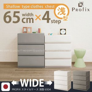 PROFIX「プロフィックス」スタイルケース「6504浅型」|smile-hg