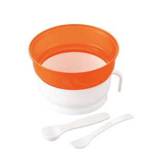 ご飯を炊かずに電子レンジでらくらく離乳食が作れるおかゆクッカーです。 お米からでもご飯からでも簡単に...