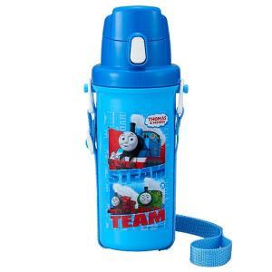 直飲み 水筒 600ml きかんしゃトーマス TMS No.3 / トーマス 水筒 子供用 直飲み 遠足 ダイレクト ボトル|smile-hg