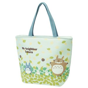 ウエット素材 トートバッグ となりのトトロ そらいろ smile-hg