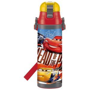 子供用 水筒 /  超軽量 ロック付 ワンプッシュ ダイレクト ステンレスボトル 580ml カーズ19|smile-hg