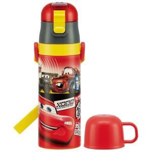 子供用 水筒 /  保温 保冷 超軽量 2WAYステンレスボトル 430ml カーズ19|smile-hg