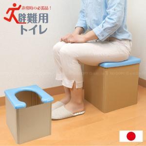 避難用トイレ ブルー R-58 / 防災 災害 渋滞 車内 簡易 ポータブル トイレ 軽量 コンパクト アウトドア 非常時 グッズ 日本製 smile-hg