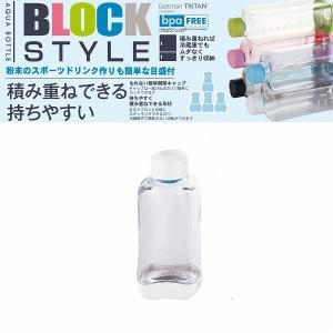 ブロックスタイル PCアクアボトル500[クリア][H-6031]|smile-hg
