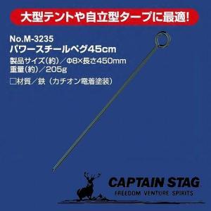 スチールペグ45cm M-3235|smile-hg