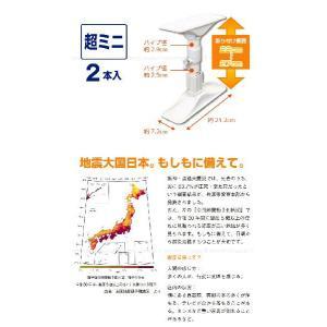 突ぱり耐震ポール超ミニ「2本入」REQ-22|smile-hg|03