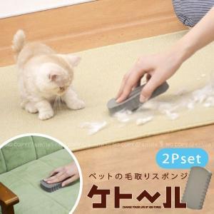 ペット 毛 掃除 / ペットの毛取りスポンジ ケトール 「2個組」 / 「ネコポス送料無料」|smile-hg