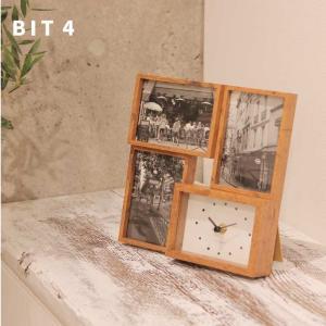 フォトフレーム 時計 /   BIT4   ビット フォー