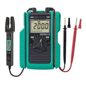 ・新強化保護ブッシュ付き  ・オープンコアタイプクランプセンサで60AまでのAC/DC電流測定が可能...