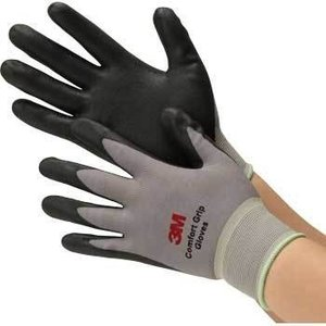3M(スリーエム) 快適作業手袋 GLOVE-GRA-L コンフォートグリップグローブ グレー L