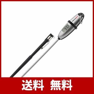[掃除簡単と収納便利]:クッキング温度計はステンレス製なので、錆のことは心配なくて、同時に計測部分も...