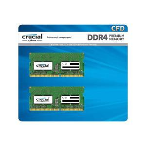 送料無料CFD販売 ノートPC用メモリ PC4-21300(DDR4-2666) 16GB×2枚 2...