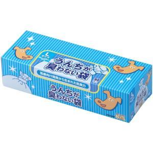 クリロン化成 うんちが臭わない袋 BOS ペット用 箱型 L90枚 犬 猫 トイレ 消臭 袋