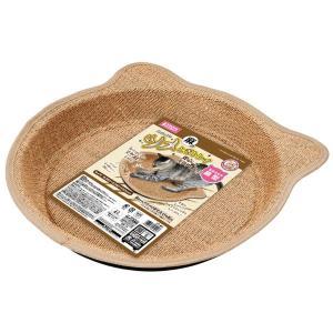 マルカンCT-401麻のツメとぎトレイ鍋型 犬 猫 猫 おもちゃ 爪とぎ|smile1